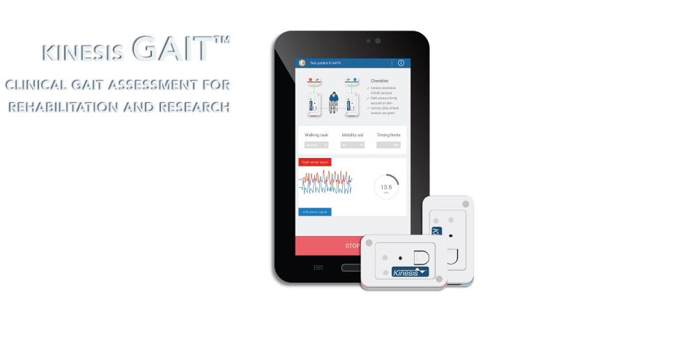 Discover Gait™ - Clinical gait assessment for rehabilitation and research