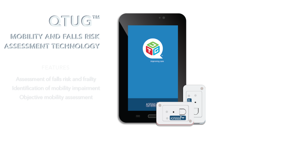 Discover QTUG™ - Mobility and Falls risk assessment tool