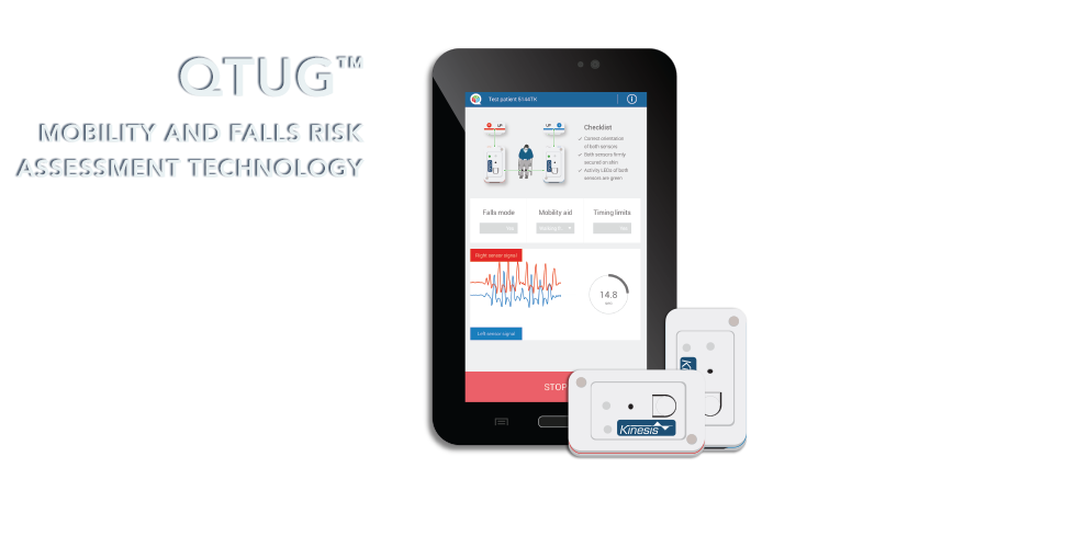 Discover QTUG™ - Gait and Falls risk assessment tool