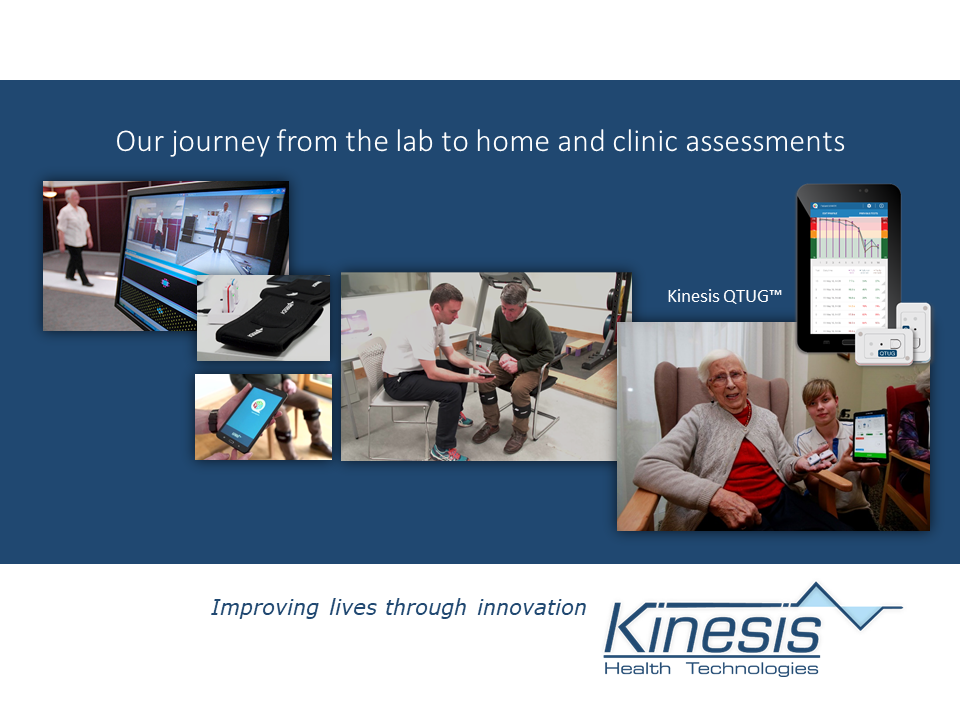 Our journey from the lab to home and clinic assessments