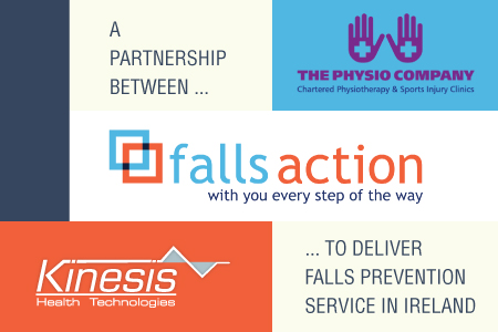 A partnership between The Physio Company and Kinesis Health Technologies