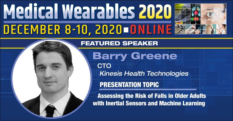 Kinesis CTO speaking at Medical Wearables 2020